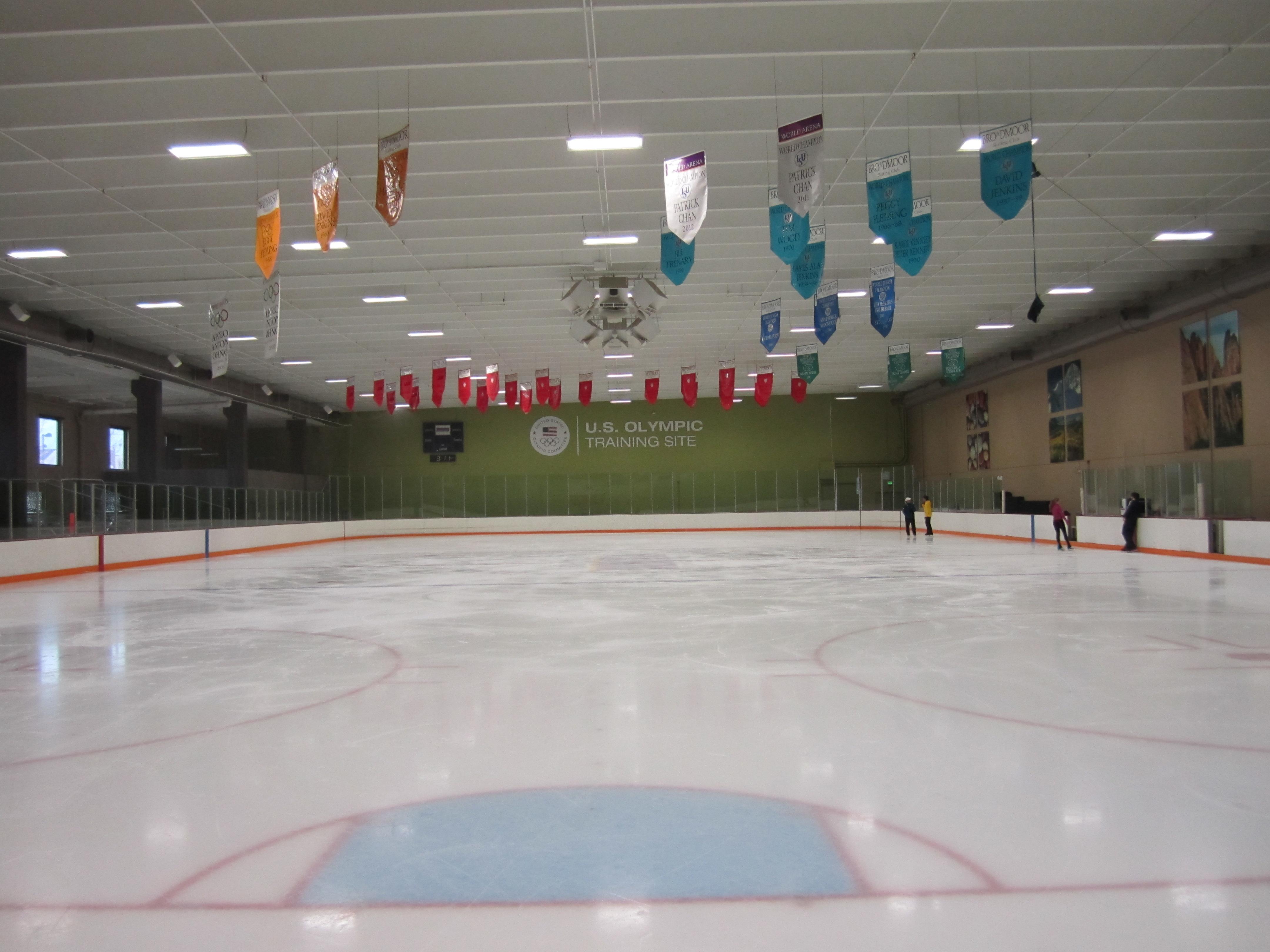world arena ice hall broadmoor world arena