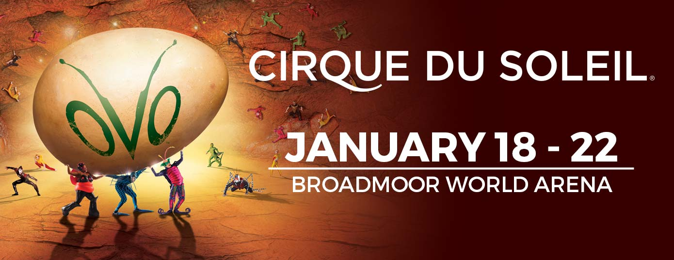 Cirque du Soleil OVO – Map World Arena Colorado Springs