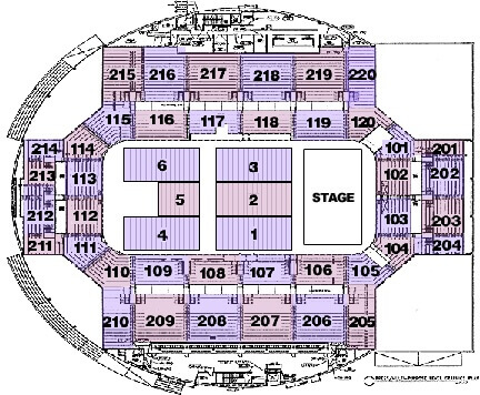 Seating charts broadmoor world arena